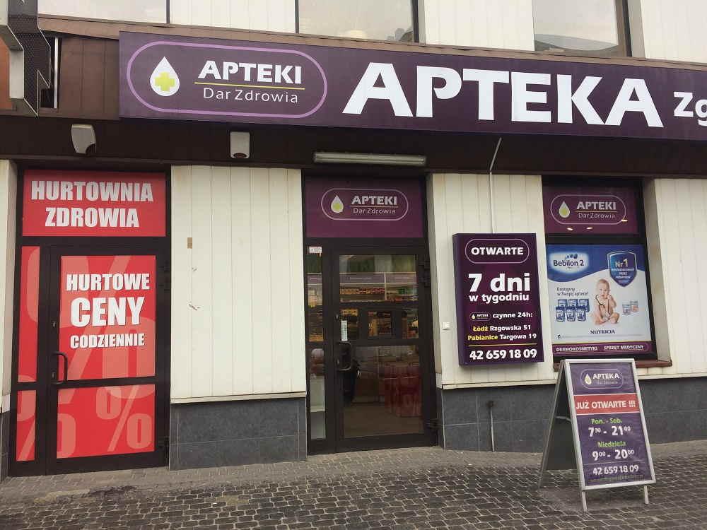 Hurtownia Zdrowia - aptekidarzdrowia.pl